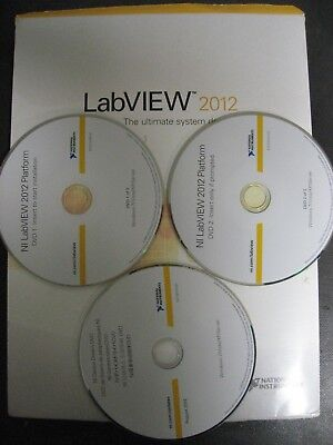 LabVIEW 2012 Full Development System National Instruments p/n 776670-35
