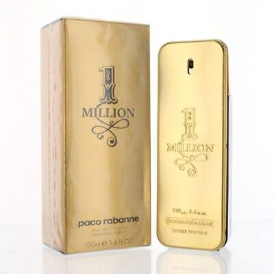 c75ca2680 Paco 1 Million 3.4 Oz Eau De Toilette Spray By Paco Rabanne New In Box For