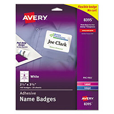 Avery Labels--Name Badges--20 Sheets--160 Badges--FREE SHIPPING