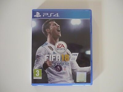 FIFA 18 for Sony PlayStation 4 (PS4) *LIKE NEW*
