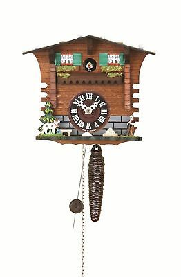 Quarter call cuckoo clock with 1-day movement Swiss House TU 623