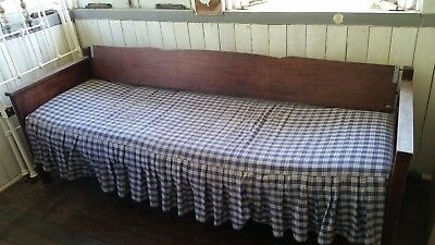 Silky Oak Day Bed/couch