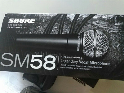 Shure SM58S Vocal Microphone with On/Off Switch Dynamic Professional Microphone
