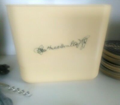 Vintage ice buckets The Famous Grouse Scotch Whisky The Original Mackinlay +more