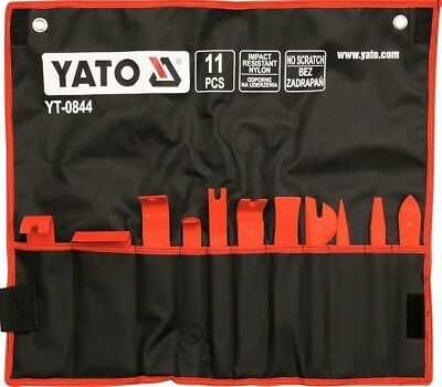 New YATO 11 piece Panel Removal Set.Trim remover Tool kit, comes in a tool pouch