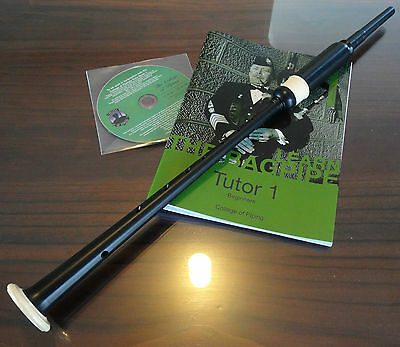 Bagpipe Learners Package- Long PC5 practice chanter, CD-rom and Tutor Book