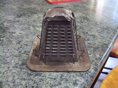 Vintage Antique 4 Sided Slice Toaster Stove or Camping