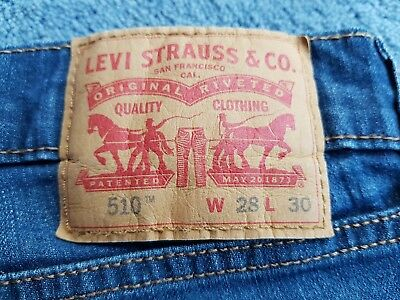 Levi's Jeans Skinny 510 28/30 Jeans. Used.