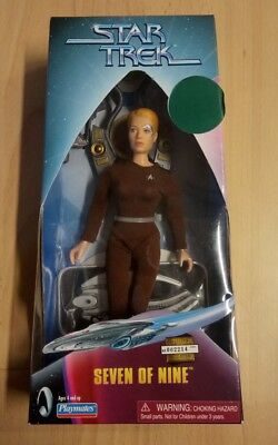 Star Trek 9 inch Seven of Nine Playmates Actionfigur Sammelfigur OVP