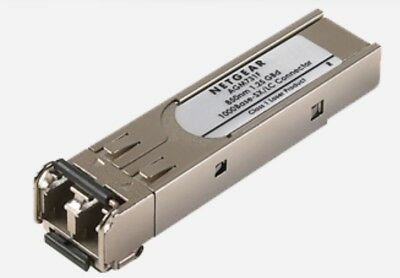 GENUINE ORIGINAL Netgear 1000BASE-SX/LC SFP TRANSCEIVER AGM731F 850nm 1.25GBd