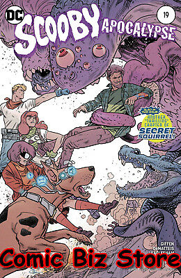 Scooby Apocalypse #20 (2017) 1St Printing Variant Cover Bagged & Boarded
