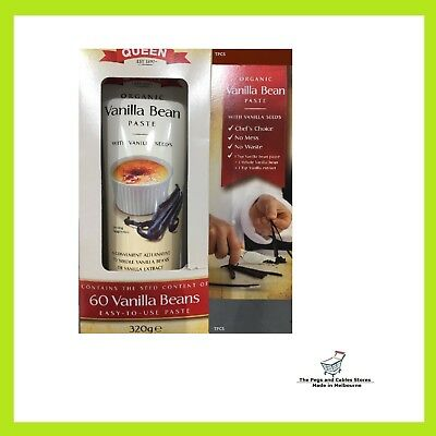 Queen Organic Vanilla Bean Paste - 320g