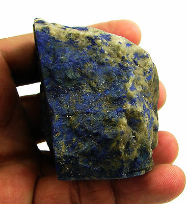 1443.00 Ct Natural Blue Lapis Lazuli Loose Gemstone Rough Specimen Stone - 9145