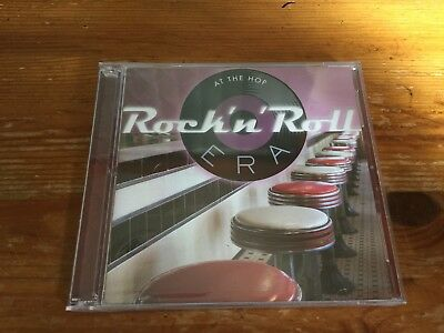 New Sealed ROCK N ROLL ERA At The Hop (Rare CD 2-Disc Set Star Vista Time Life)