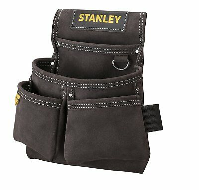 STANLEY Leather Double Nail Pocket Pouch STST1-80116 BUFFALO LEATHER