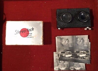 Stereo-tach Paper Print Viewer No. 104 by Advertising Displays + 9 Stereo Photos