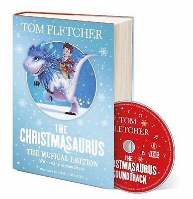 *NEW* The Christmasaurus The Musical Edition Book and Soundtrack - Hardcover