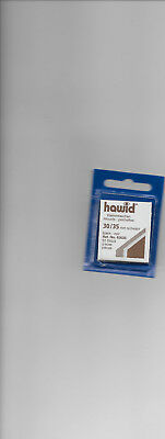 HAWID MOUNTS 30x35 mm BLACK pack of 50