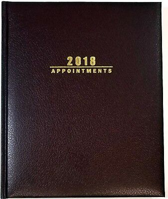 2018 Weekly/Monthly Sundial Hardcover planner - Burgundy - 7 1/2 in x 9 in
