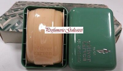 CARVEN VETIVER UOMO SAVONS (SAPONETTA) WITH CASE - 110 g