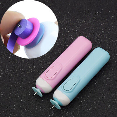 Electric Quilling Paper Pens Tool DIY Handmade Roll Paper Origami Papercrafts