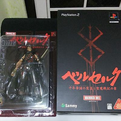 Berserk GUTS Limited figure PS2 Millenium Falcon Attached RARE used JAPAN F/S