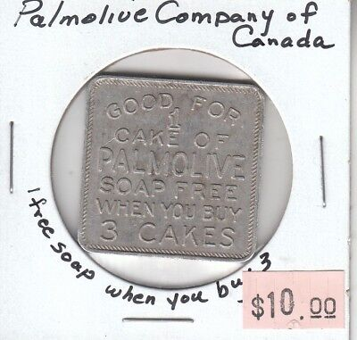 Palmolive Company of Canada - 1 Free Soap when you Buy 3 - Square Token