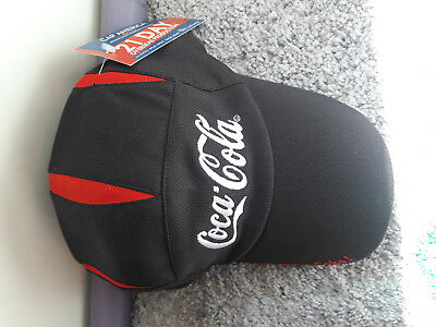 NWT Coca Cola Coke Hat Baseball Cap Red White Black NEW WITH TAGS Adjustable
