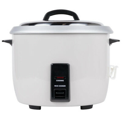Electric Rice Cooker, 30 Cup Makes 60 Cup Cooked Rice, Winco RC-P300