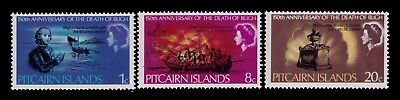 Pitcairn Islands 1967 SC# 85-87,Cpl.MNH set