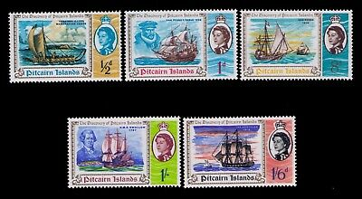 Pitcairn Islands 1967 QEII  Wmk 314 Sc# 61-71 Cpl. MNH set