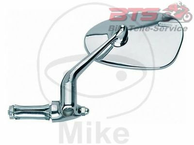 Motorcycle Mirror chrome oval Motorroller spiegel chr links Busch & Müller-532