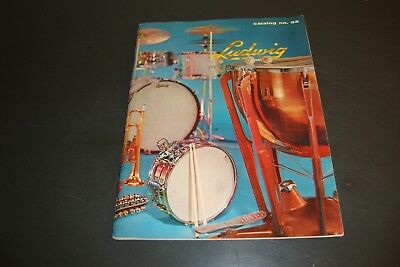 Vintage 1961 Ludwig Drum Catalog Number 62 With 72 Pages