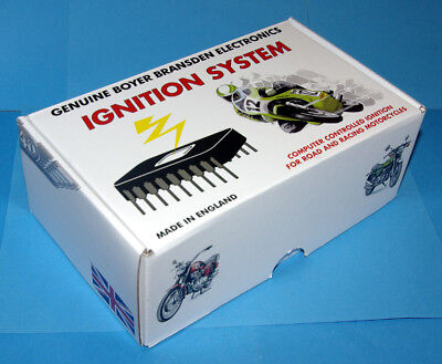 Honda CB750 550 400 SOHC elektronische Zündung Boyer elec. ignition kit 2 Coils