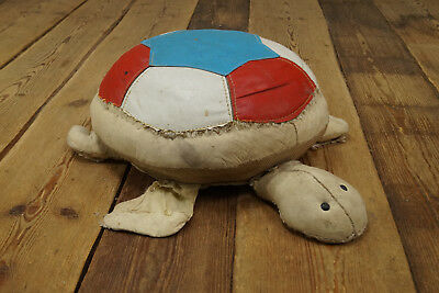 Renate Müller rupfentier Turtle Burlap Stool Therapy Toy GDR