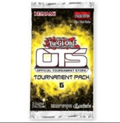 Yugioh Tournament Pack 6 OTS 6 Pack / Booster OVP - Sealed