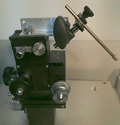 Narishige MX-4L Patch Clamp 3-Axis Coarse/Fine Micromanipulator on Magnetic Base