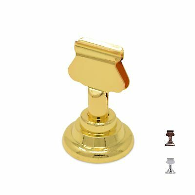 GrayBunny GB-6810B Place Card Holder 12 pack Gold Table Card Holder Table Men...