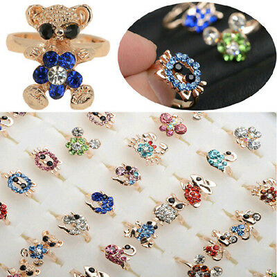 Multi-style Mixed Wholesale Adjustable Baby,Toddlers Ring Popular Princess