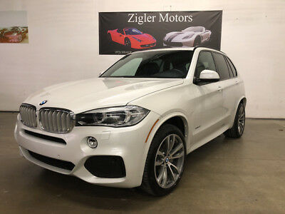 2015 BMW X5 xDrive50i Sport Utility 4-Door 2015 BMW X5 *M Sport Edition*Mineral white 3rd Row seat Fact wrnty