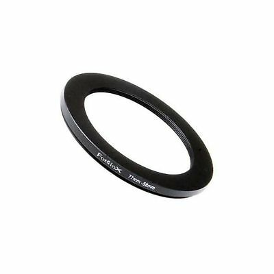 Fotodiox Metal Step Down Ring Filter Adapter Anodized Black Aluminum 77mm-58m...