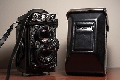 Yashica Mat 124G TLR Camera with Case