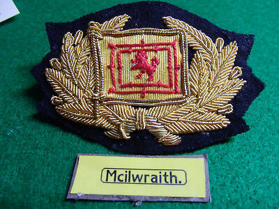 "Merchant Navy cap badge ""Mcilwraith ,McEachern Ltd""  Melbourne"