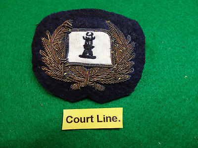 "Merchant Navy cap badge ""COURT  LINE""  London"