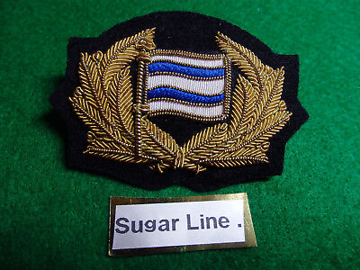 "Merchant Navy cap badge ""Sugar Line Ltd""  London"