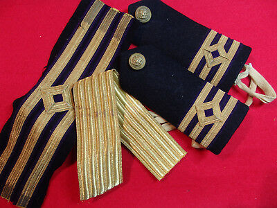 Merchant Navy Chief Eng braid and new  gold braid.