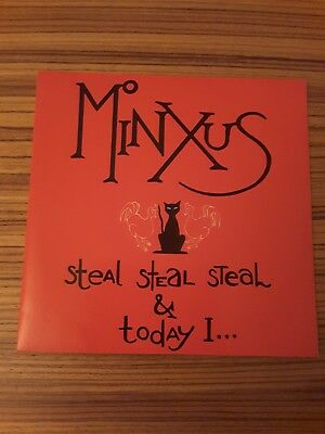 """Minxus - Steal Steal & Today & I _ 7"""" Single too pure 32 _ 1994"""