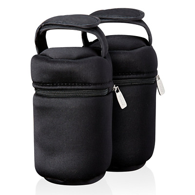 Tommee Tippee Closer to Nature Outdoor Insulated Bottle Bag Pack of 2