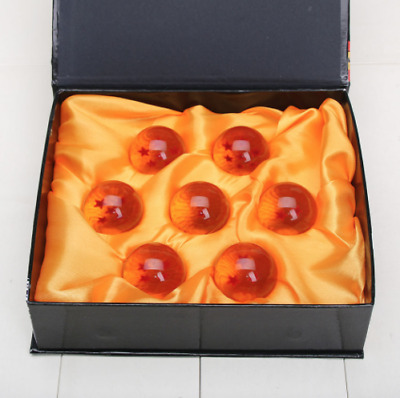 7pcs Set Dragon Ball Z Stars Crystal Balls Collection With Box