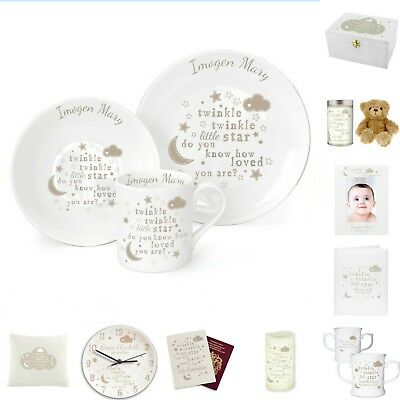 Baby Christening Gifts Personalised New Baby Shower Girlboy
